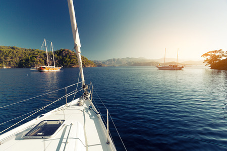 turkey day: Sailing Stock Photo
