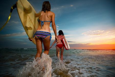 Surfers Stok Fotoğraf