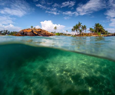 lanka: Sri Lanka seascape Stock Photo