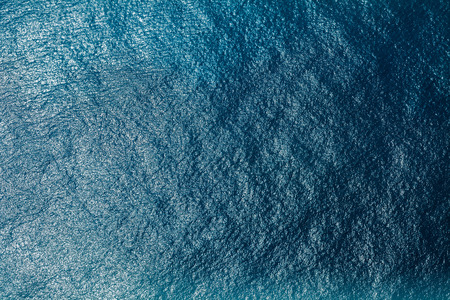 azul turqueza: la superficie del mar vista a�rea