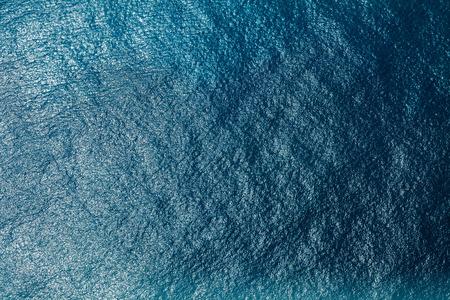 Zeeoppervlak luchtfoto Stockfoto