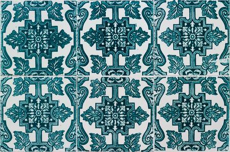 named: Portuguese colorful tiles named Azulejos