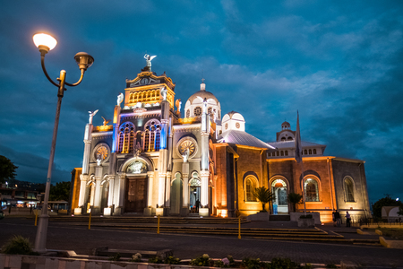 Basilica de Nuestra Senora de los Angeles in the city of Cartago, Costa Rica