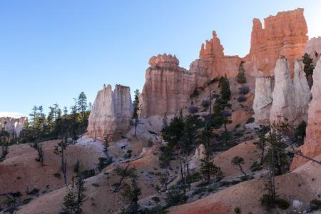 Valley of the Bryce Canyon National Park, USA Reklamní fotografie