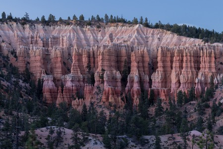 Rocks of the Bryce Canyon National Park USA