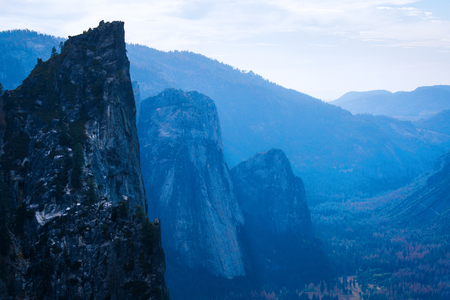 Valley of the Yosemite National Park, USA