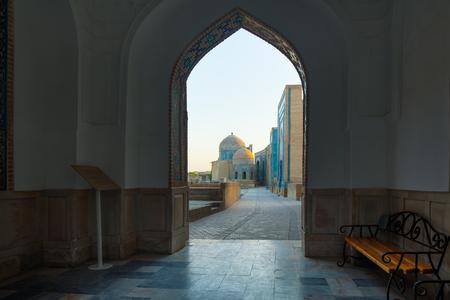 Ancient complex of buildings of Shakh i Zinda, Uzbekistan