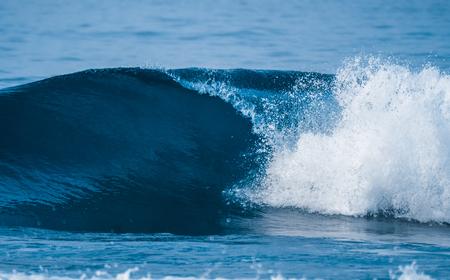 Ocean wave breaking on the shore