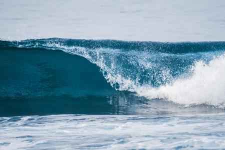 Ocean wave breaking on a shore