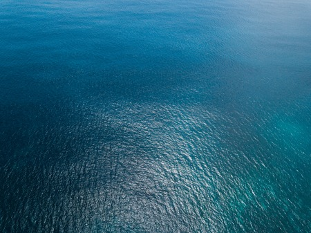 Aerial view of sea surface