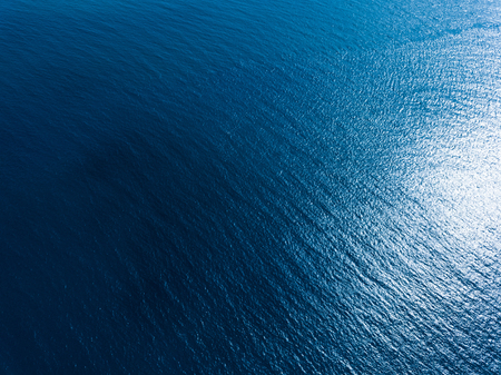 Aerial view of the sea surface Stok Fotoğraf