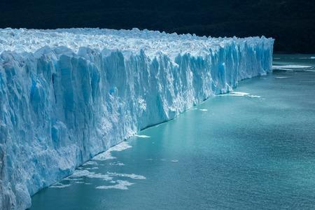 Perito Moreno glacier with clear water, Argentina 스톡 콘텐츠