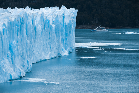 Part of the Perito Moreno Glacier, Patagonia, Argentina 写真素材