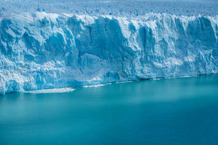 Front edge of the Perito Moreno Glacier located in the Southern Patagonian Ice Field, Argentina