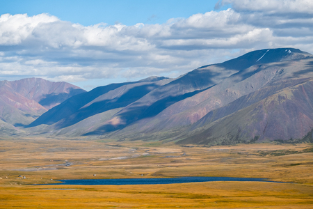 Mountains of Altai Republic near the border with Mongolia, Russia
