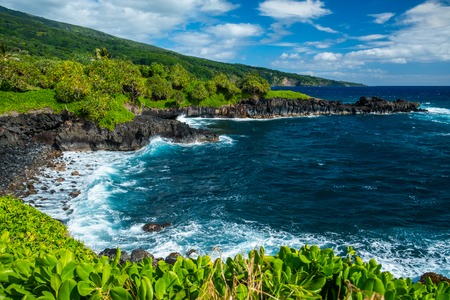 West coast of Maui island near Hana town. Hawaii