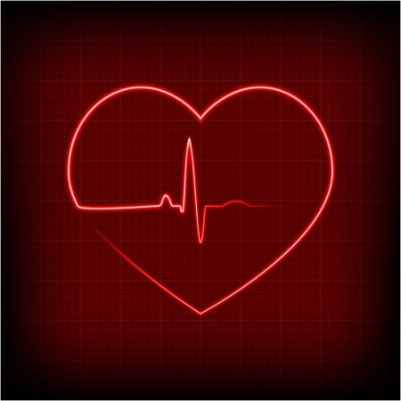 cardioid: coraz?n en un electrocardiograma