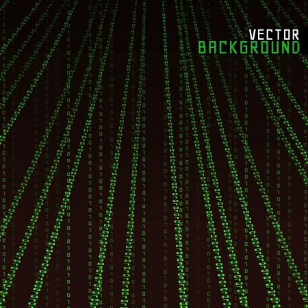 Vector Illustration Matrix