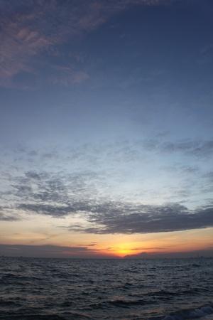 rayong: the sea at Rayong of Thailand