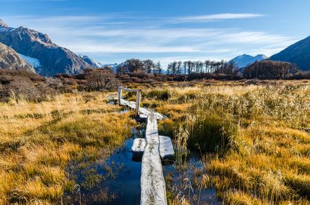 fitz: Fitz Roy scenic view Stock Photo