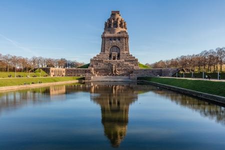 Battle of the Nations Monument in Leipzig Reklamní fotografie