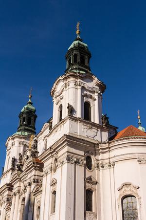 'saint nicholas': Saint Nicholas church in Prague