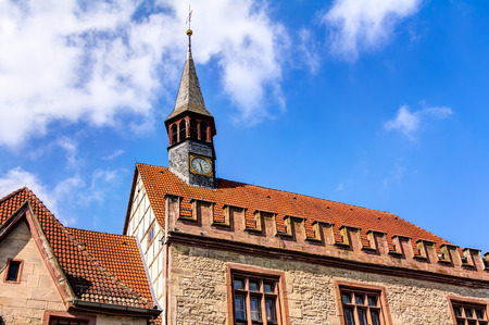 old town hall: Old Town Hall in Goettingen Stock Photo