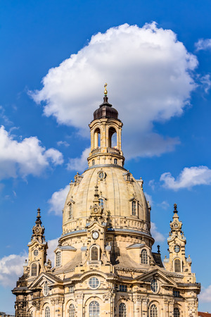 frauenkirche: Frauenkirche in Dresden Lizenzfreie Bilder