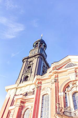landfall: Saint Michaels Church in Hamburg