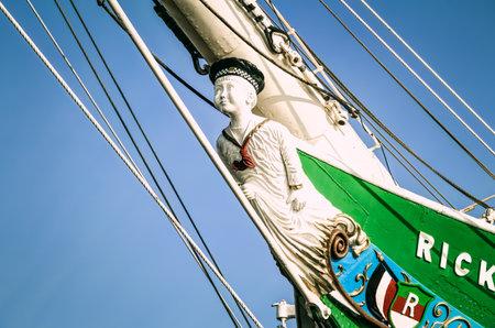 renamed: Museum sailing ship Rickmer Rickmers in Hamburg