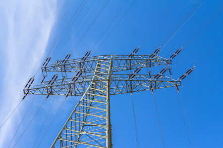 sustained: Electrical power supply Stock Photo