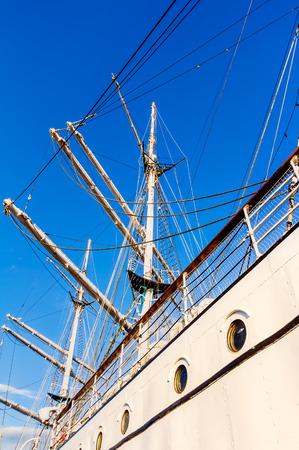 Training ship Gorch Fock Stock Photo