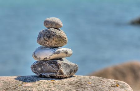 complied: Stone pyramid