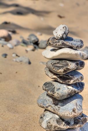 adjusted: Stone pyramid