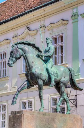 hussar: Hussar Monument in the City of Szekesfehervar
