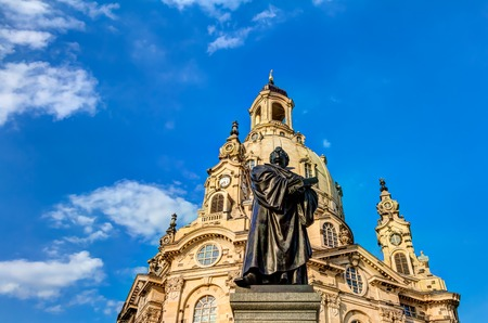 Church of our Lady in Dresden in Germany
