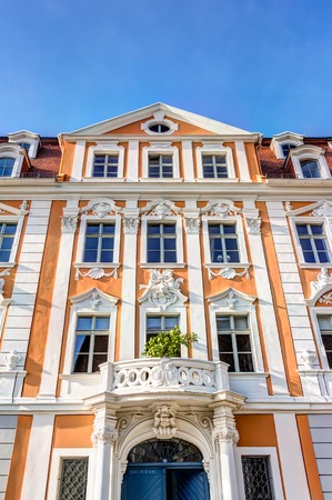 old town house: Old town house in the city Gorlitz, Germany Stock Photo