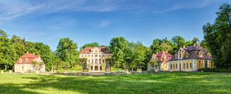 cultural history: Castle in Neschwitz in the Upper Lusatia in Germany