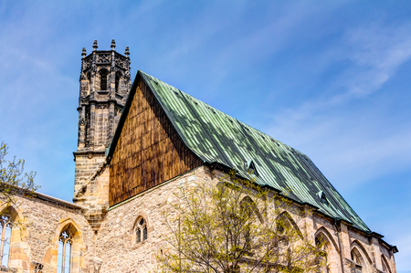 hermits: Augustinian monastery in the historic city center of Erfurt, Germany