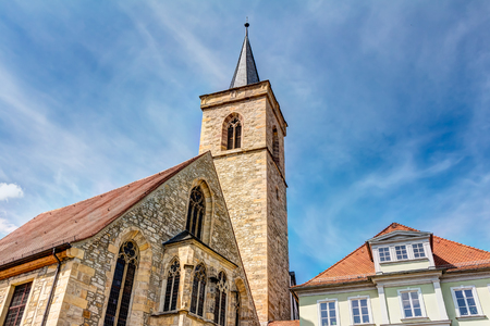 giles: Saint Giles church in the historic city center of Erfurt, Germany