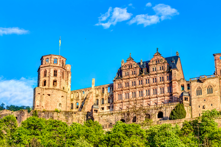 Heidelberg Castle is a ruin in Germany and landmark of Heidelberg