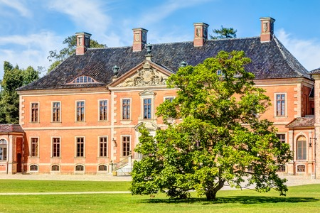 clinker: Bothmer Palace in Baroque style near Klutz in Germany