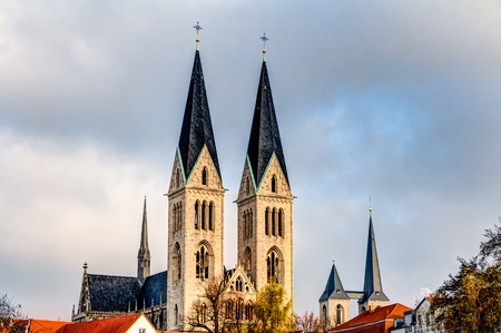 sacral: Church of St Stephen and St Sixtus in Halberstadt, Germany