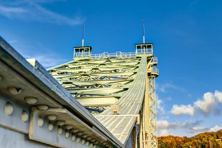 The Blue Wonder in Dresden - Loschwitz Bridge