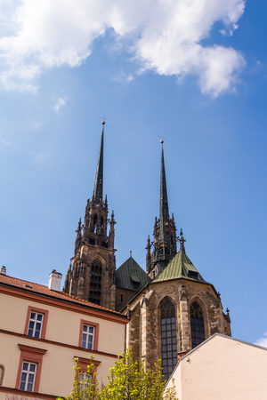 sacral: Cathedral of St. Peter and Paul in Brno, Czech Republic