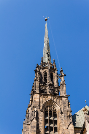 gothic revival: Cathedral of St. Peter and Paul in Brno, Czech Republic
