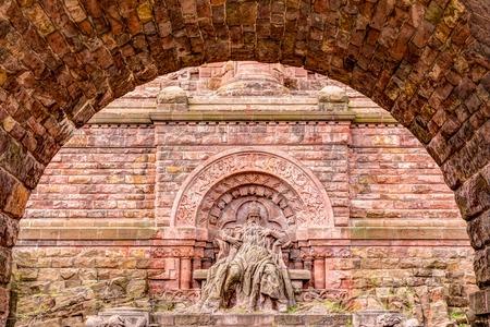 Kyffhauser monument of Emperor William and Barbarossa