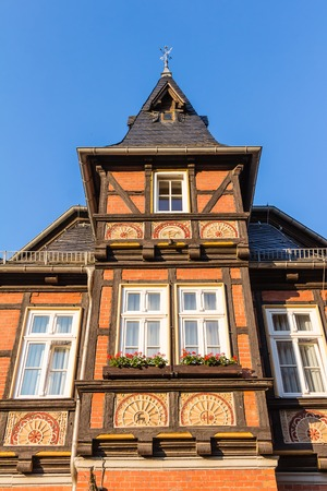 Stolberg in the Harz mountains in Germany Stock Photo