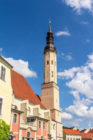 Minister St. Peter and St. Pauls Church in Zittau, Germany Stock Photo