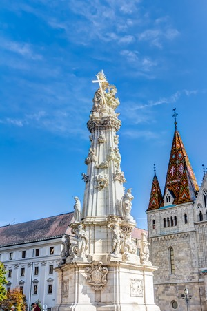 Matthias church in Budapest - Church of our Lady of Buda, Hungary
